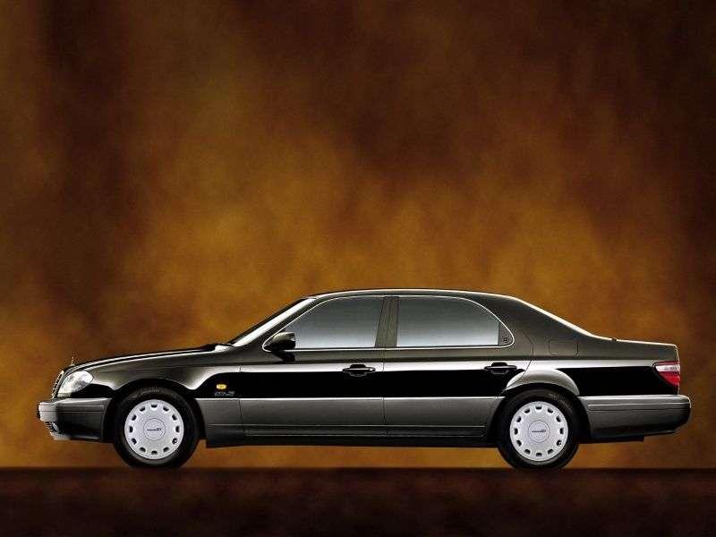 Daewoo Chairman W124sedan 3.2 AT (1998–2001)