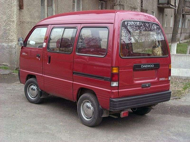 Daewoo Damas 1st generation minivan 0.8 MT (1991–2005)