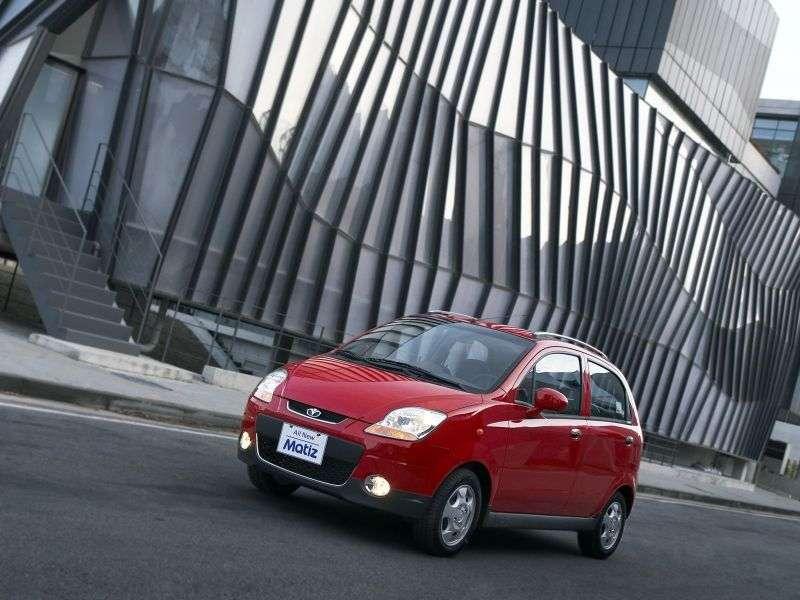Daewoo Matiz hatchback 2.generacji 0.8 MT (2005 2011)
