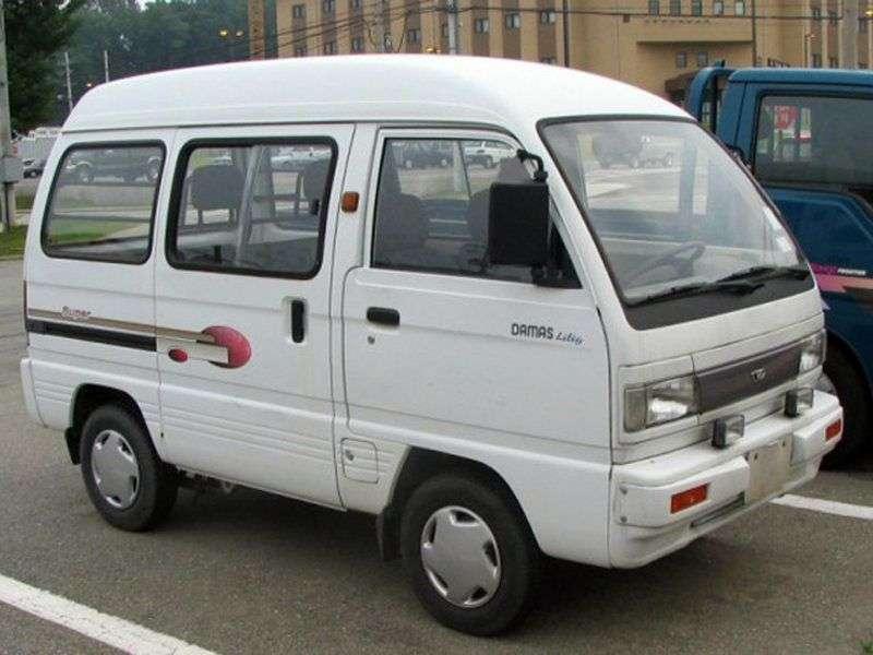 Daewoo Damas 2nd generation minivan 0.8 MT (2005 – n.)