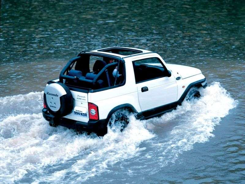 Daewoo Korando KJ cabrio 2.9 TD AT AWD (1999–2001)