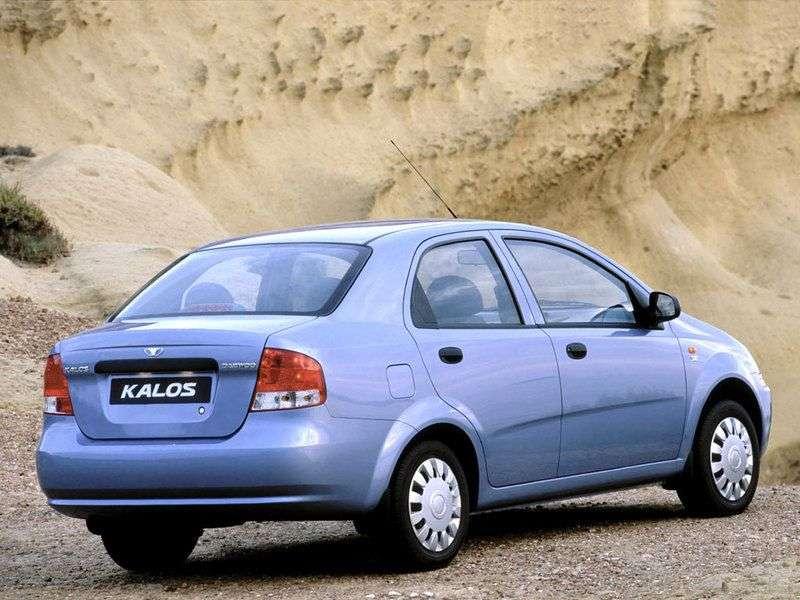 Daewoo Kalos 1st generation sedan 1.6 AT 16V (2002–2005)