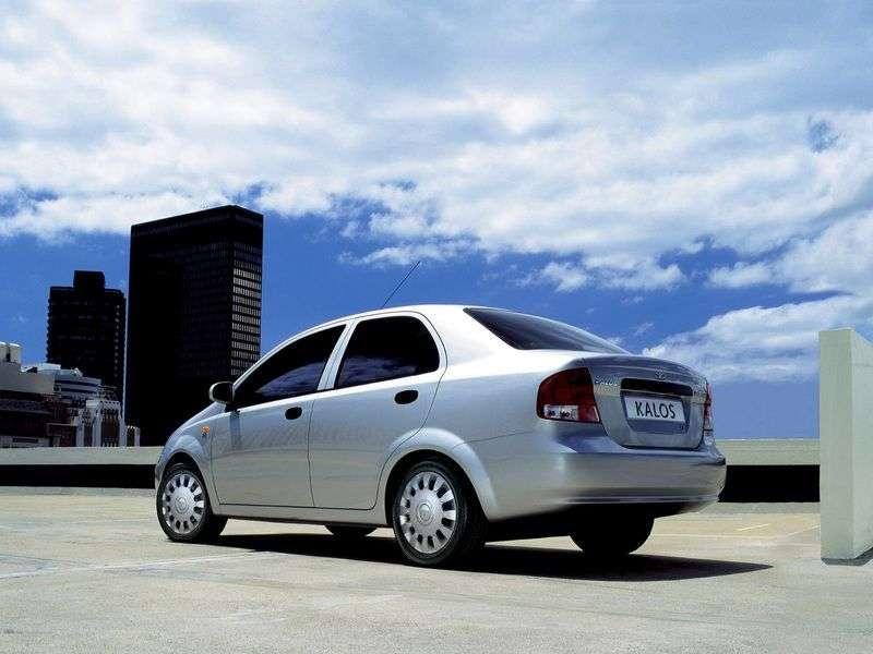 Daewoo Kalos 1st generation sedan 1.6 MT 16V (2002–2005)