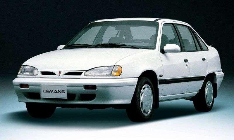 Daewoo LeMans 1st generation 1.6 MT sedan (1986–1989)