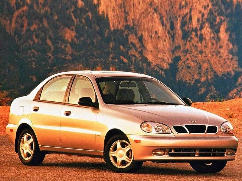 Daewoo Lanos 1st generation sedan 1.6 MT (1997 – n. In.)