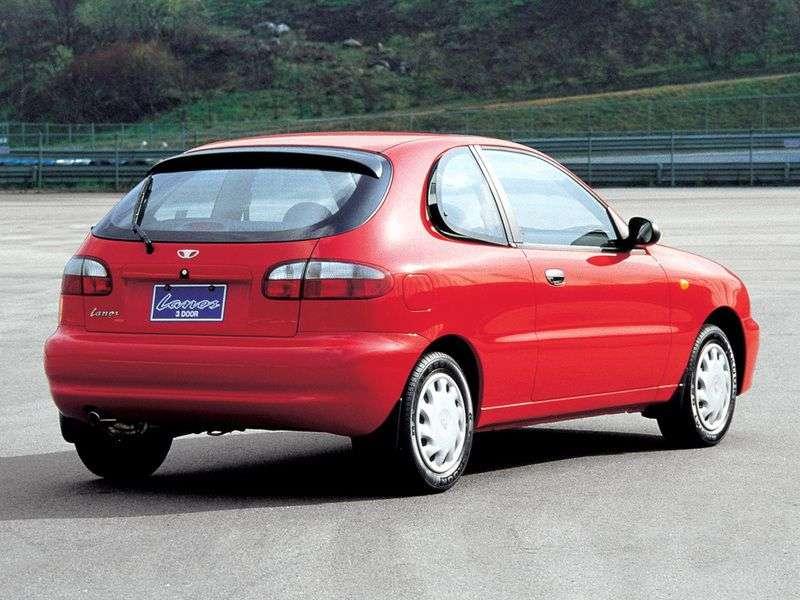 Daewoo Lanos 1st generation 1.6 MT hatchback (1997 – n.)