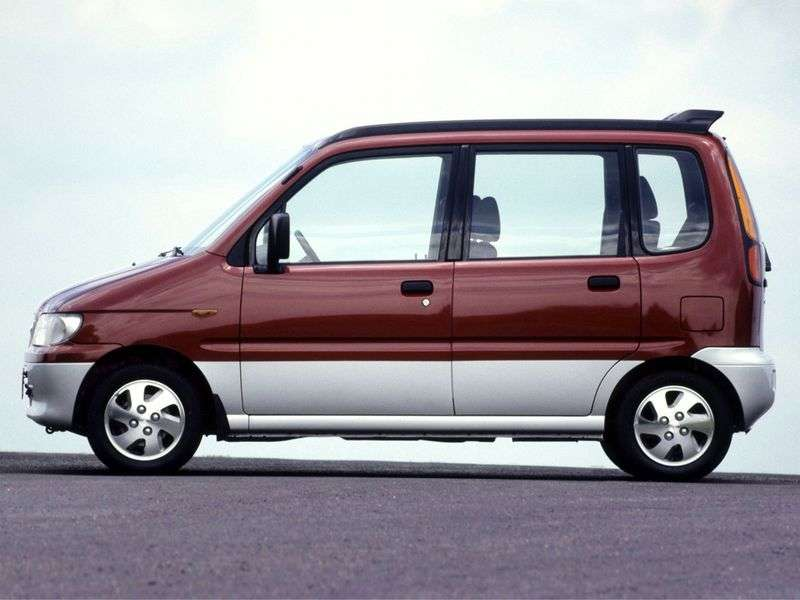 Daihatsu Move L900 minivan 0.8 MT (1998–2002)