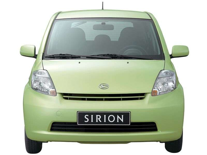 Daihatsu Sirion 2nd generation hatchback 1.3 MT 4WD (2005–2007)