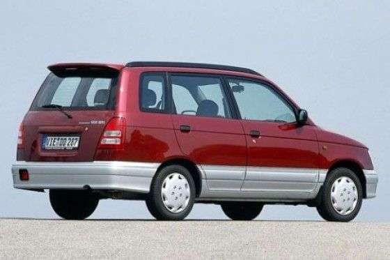 Daihatsu Gran Move 1st generation [restyled] minivan 1.6 AT (1999–2002)