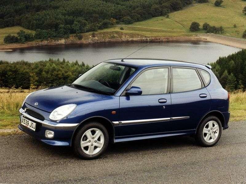 Daihatsu Sirion 1st generation hatchback 1.3 MT (2000–2002)