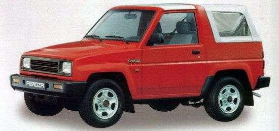 Daihatsu Feroza 1st generation Soft top 1.6 MT convertible (1989–1994)