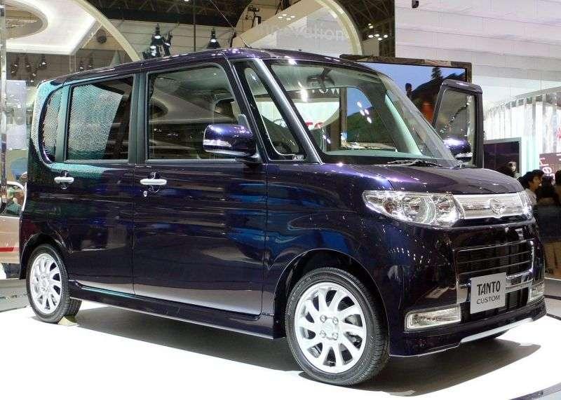 Daihatsu Tanto 2nd generation hatchback 5 dv. 0.7 turbo CVT AWD (2009 – present)
