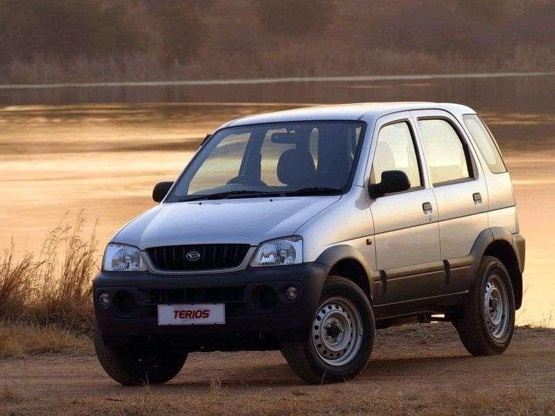 Daihatsu Terios 1.generacja [zmiana stylizacji] crossover 1.3 Turbo MT 4WD (2000 2005)