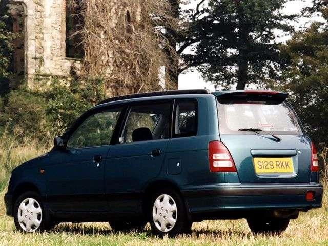 Daihatsu Move Gran Move [restyled] minivan 1.6 MT (1996–1999)