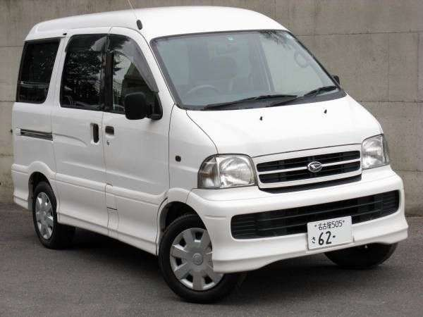 Daihatsu Atrai 4th generation minivan 0.7 MT (1999–2005)