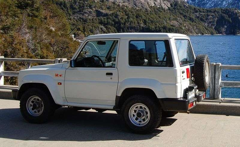 Daihatsu Rocky 3rd generation Hard top SUV 2.8 TD MT (1993–1998)
