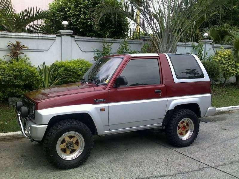 Daihatsu Feroza 1st generation [restyling] Hard top SUV 1.6 MT (1994–1999)