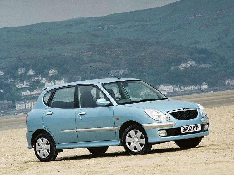 Daihatsu Storia 1st generation [restyling] hatchback 1.3 MT AWD (2000–2004)