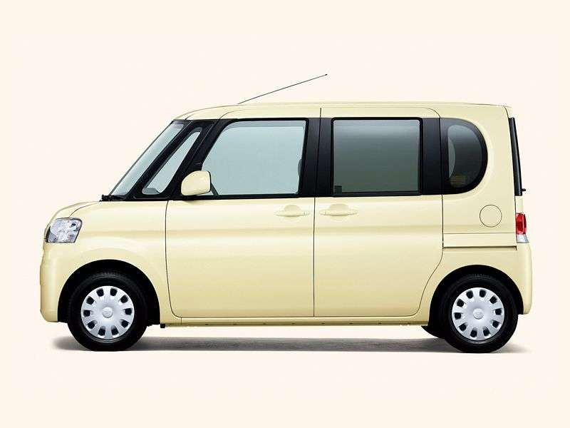 Daihatsu Tanto 2nd generation hatchback 0.7 CVT (2007 – current century)