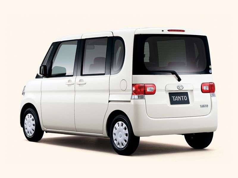 Daihatsu Tanto 2nd generation hatchback 0.7 AT AWD (2007 – current century)