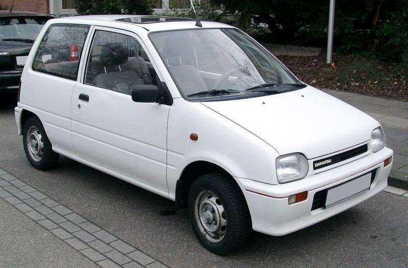 Daihatsu Cuore L2003d hatchback 0.8 MT (1991 1994)