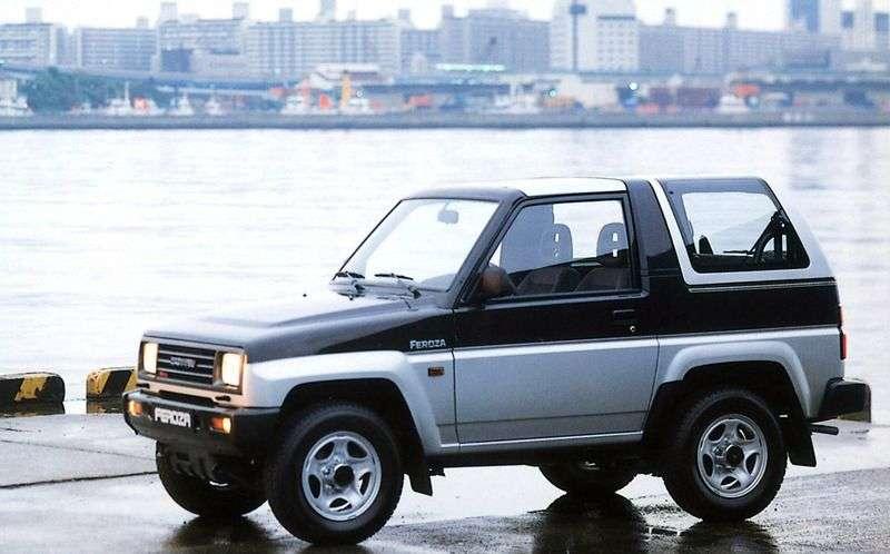 Daihatsu Feroza 1st generation Hard top SUV 1.6 MT (1989–1994)