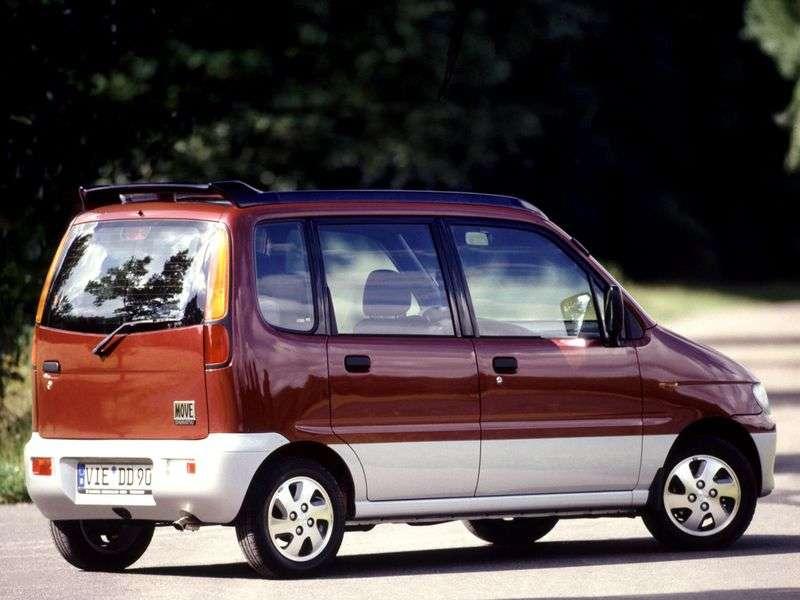 Daihatsu Move L900 minivan 0.7 MT (1998–2002)