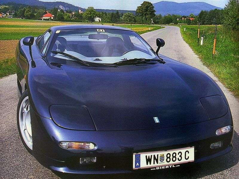 De Tomaso Guara 1st generation Coupe 4.0 MT (1993–2001)