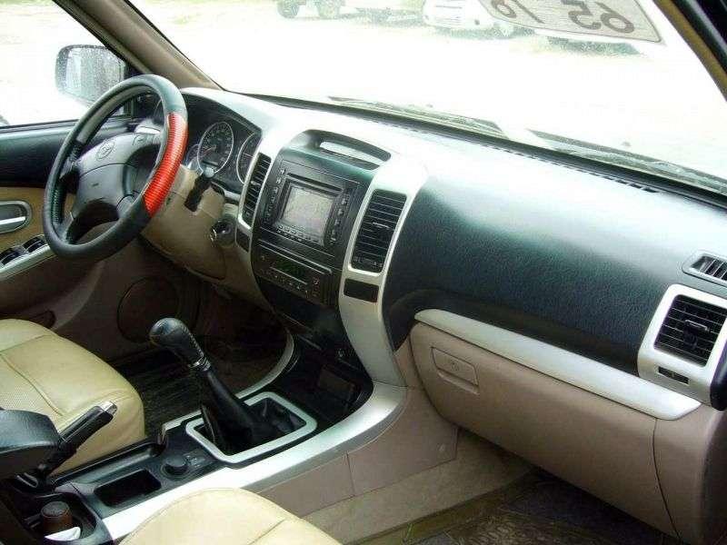 Derways Aurora 1st generation SUV 5 dv. 2.4 AT (2006–2007)