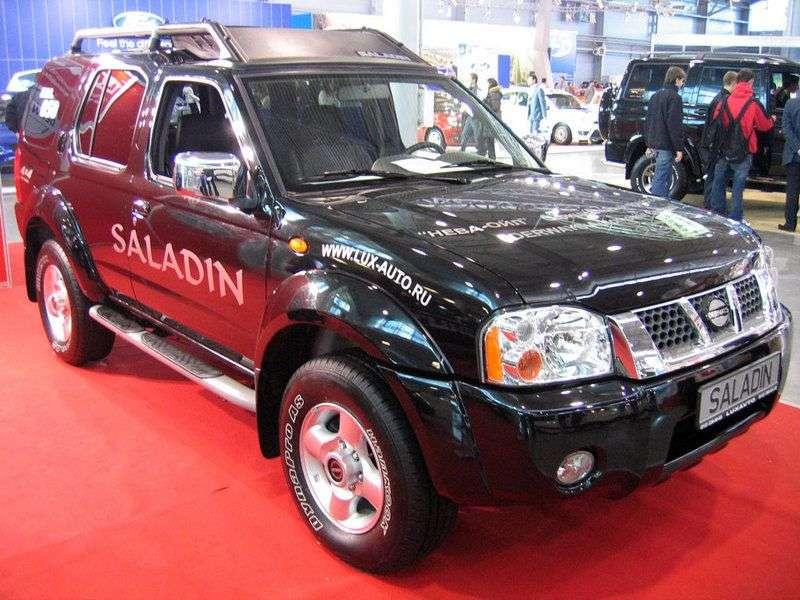Derways Saladin 1st generation SUV 2.4 MT (2007 – n.)