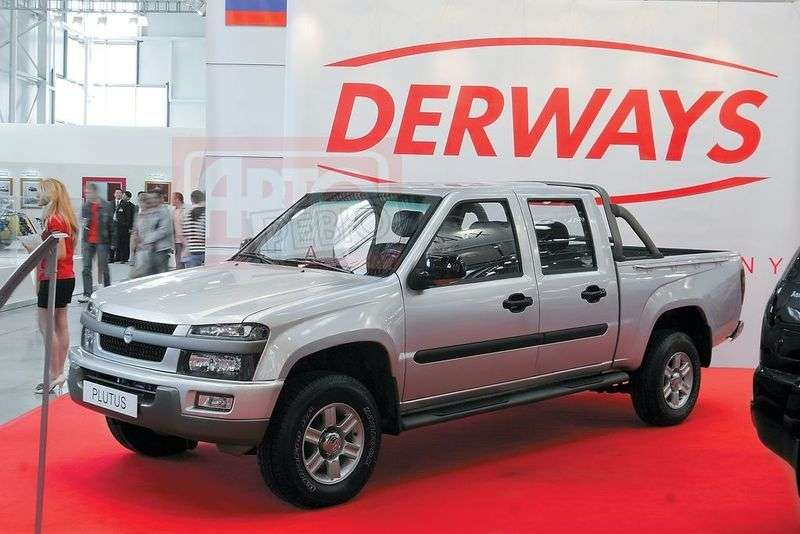 Derways Antelope 1st generation pickup 2.4 MT (2007 – n.)