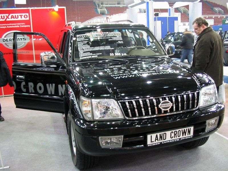 Derways Land Crown 1st generation SUV 3.0 MT (2007 – present)