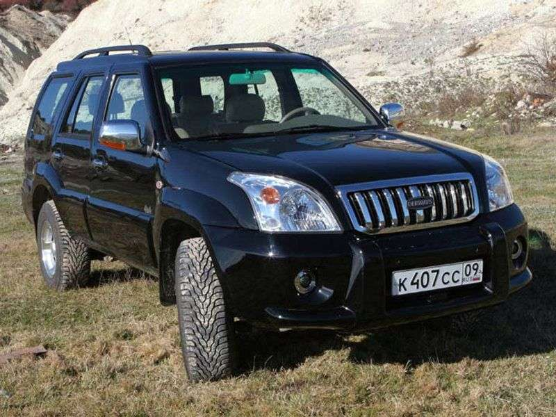 Derways Shuttle 1st generation SUV 2.4 MT (2005 – n.)