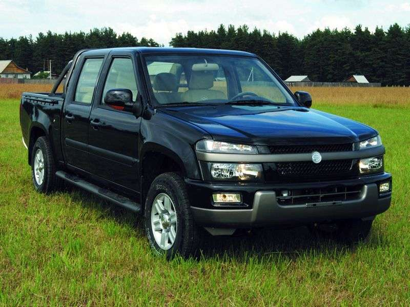Derways Plutus 1st generation pickup 2.4 MT (2007–2009)