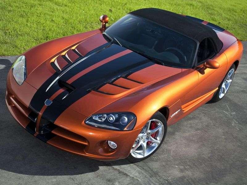 Dodge Viper 4th generation roadster 8.4 MT (2008–2010)