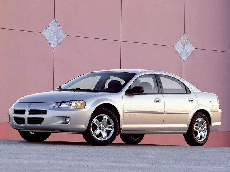 Dodge Stratus 2nd generation sedan 2.4 MT (2001–2006)