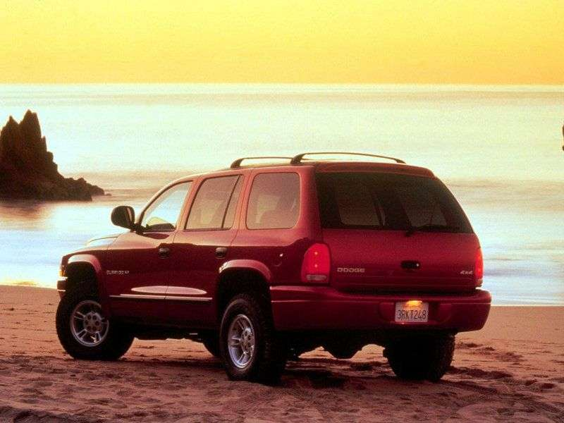 Dodge Durango 1st generation SUV 4.7 AT (2000–2004)