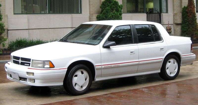 Dodge Spirit 1st generation sedan 3.0 AT (1988–1995)