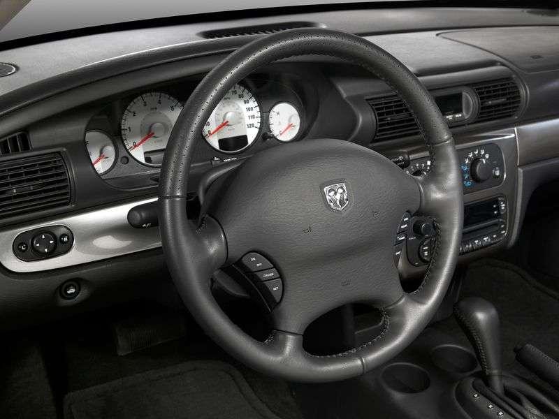 Dodge Stratus 2nd generation sedan 2.4 AT (2001–2006)