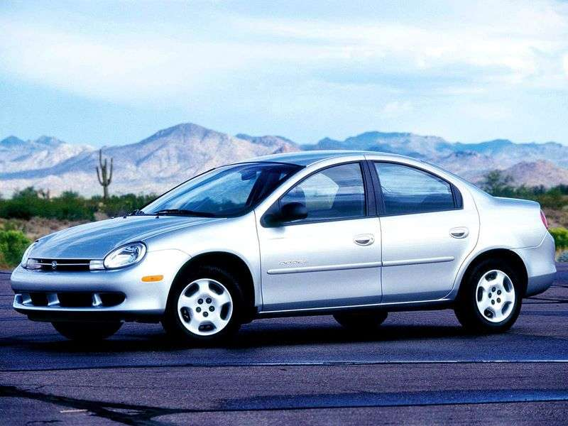 Dodge Neon 2nd generation sedan 2.4 MT (2002–2005)