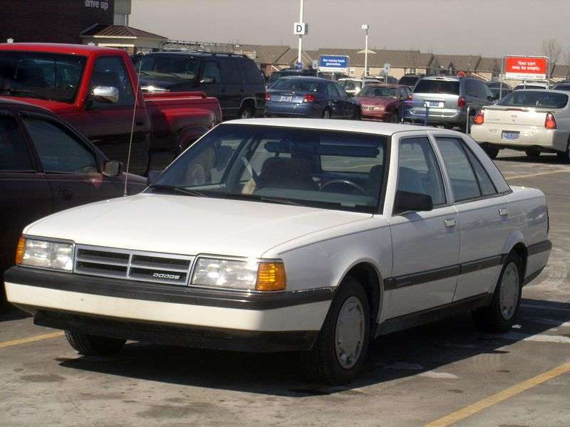Dodge Monaco 4th generation sedan 3.0 MT (1990–1993)