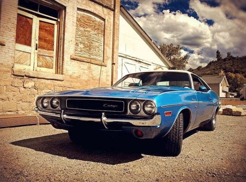 Dodge Challenger 1 generation coupe 2 bit. 5.6 4MT (1970–1970)