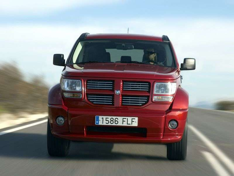 Dodge Nitro 1st generation SUV 4.0 AT (2007–2010)