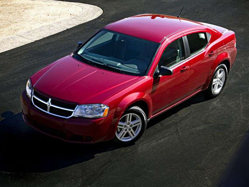 Dodge Avenger 2nd generation sedan 2.0 D MT (2007–2010)