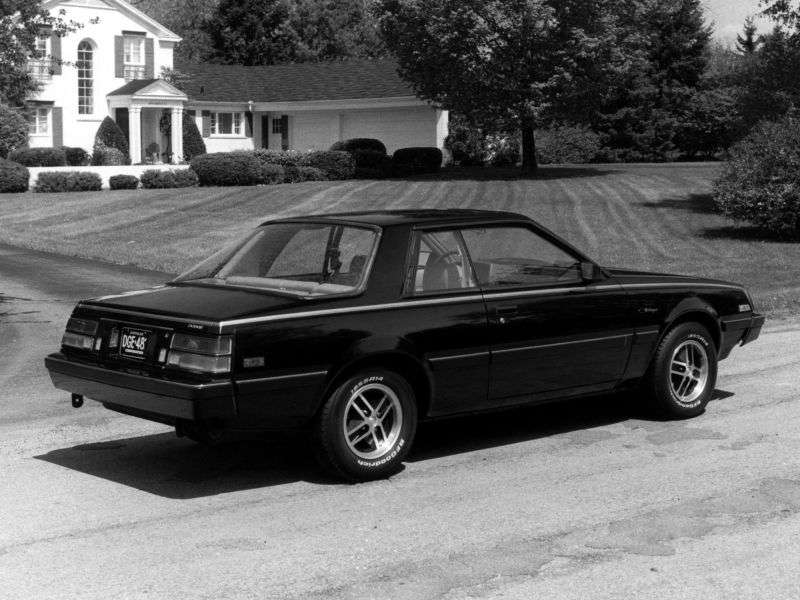 Dodge Challenger 2nd generation [restyled] coupe 2.6 TorqueFlite (1981–1984)