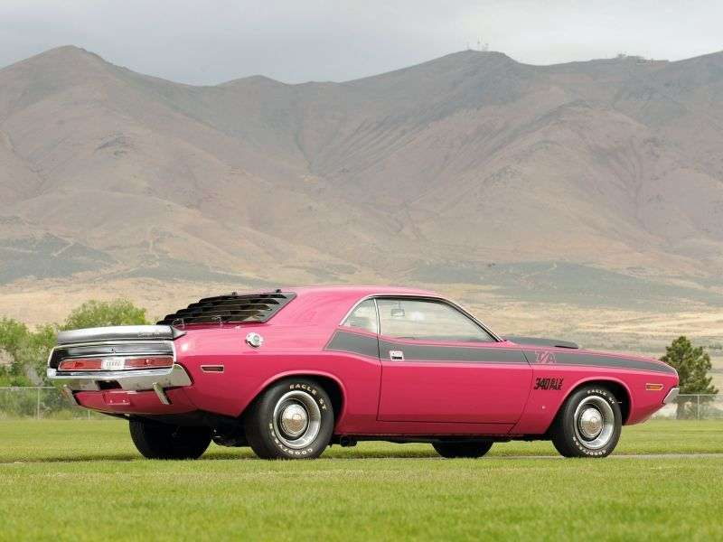 Dodge Challenger 1st generation T / A Coupe 5.6 4MT (1970–1970)