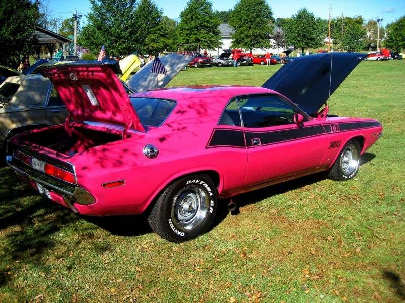 Dodge Challenger 1st generation T / A Coupe 7.2 4MT (1970–1970)