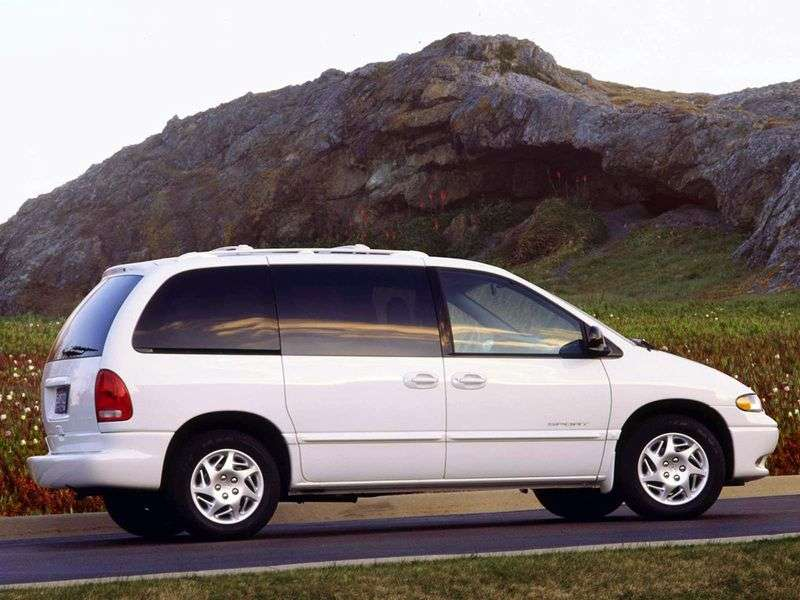 Dodge Caravan 3 generation minivan 5 doors 2.4 AT (1995–2001)