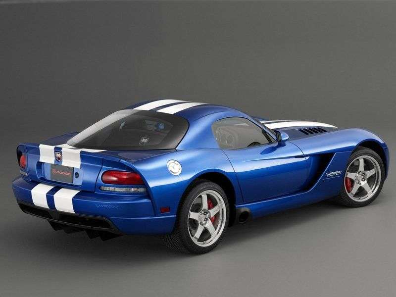 Dodge Viper 3rd generation coupe 8.3 MT (2005–2007)