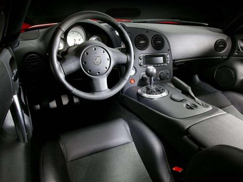 Dodge Viper 3rd generation SRT 10 roadster 8.3 MT (2003–2007)